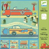 Sabloane Djeco - Vehicule