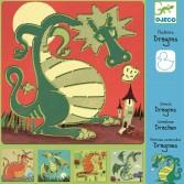 Sabloane Djeco - Dragoni