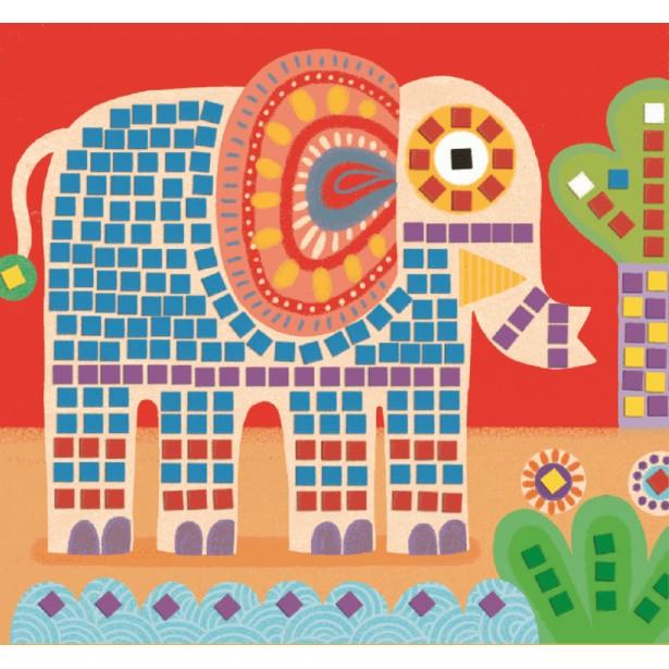 Mozaic Djeco - Animale pentru cei mici