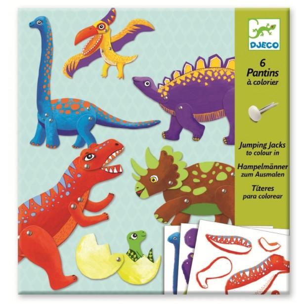Dinozauri in miscare Djeco