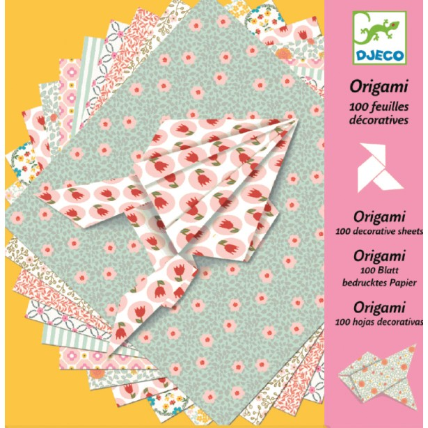 Hartie origami Djeco coli decorative