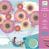 Joc creativ de facut spirale Djeco - Marguerite