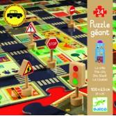 Puzzle gigant Djeco - Orasul