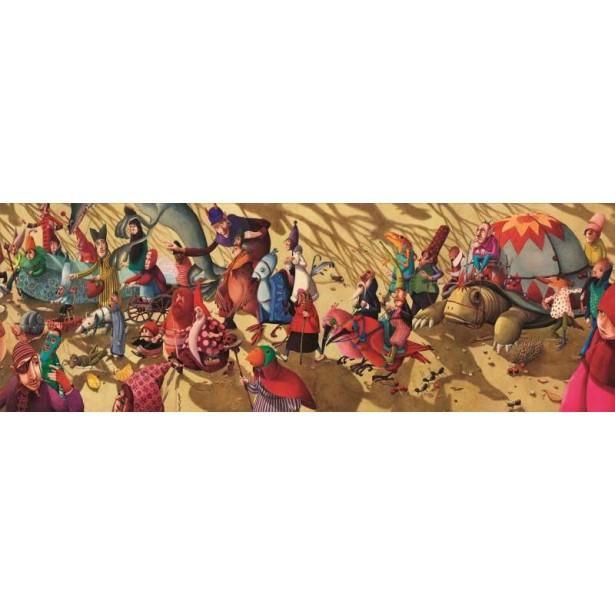 Puzzle Djeco - Parada fantastica 350 piese