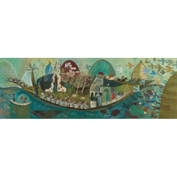 Puzzle Djeco - Barca poetica 350 piese