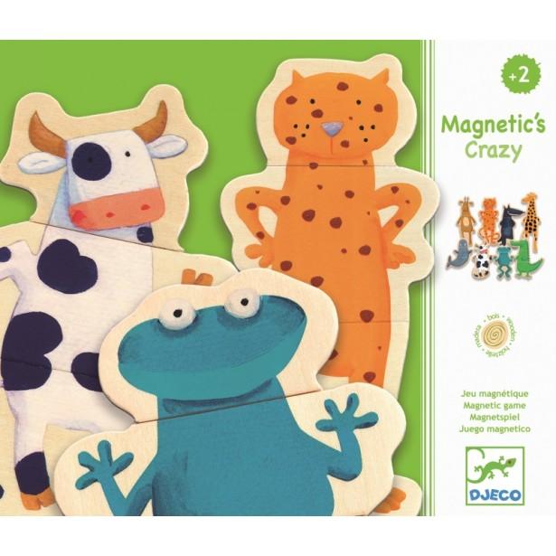 Joc cu magneti Djeco - Animale amuzante