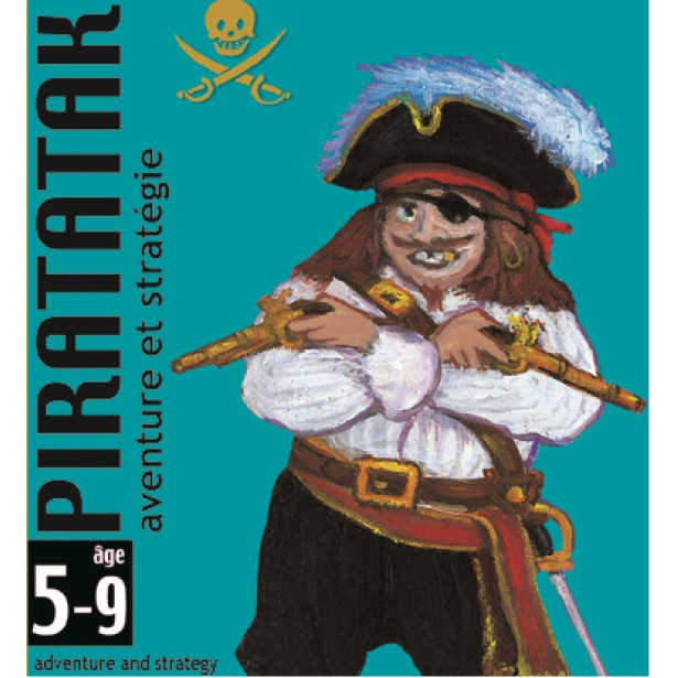 Joc de carti Djeco - Piratatak
