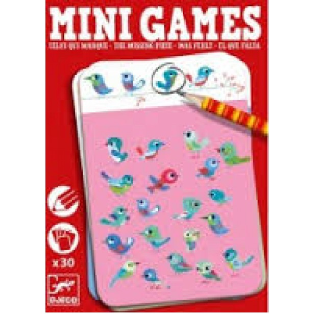 Mini games Djeco - piesa lipsa