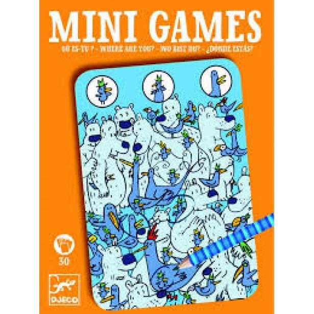 Mini games Djeco - gaseste personajul