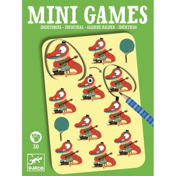 Mini games Djeco - imagini identice Emile