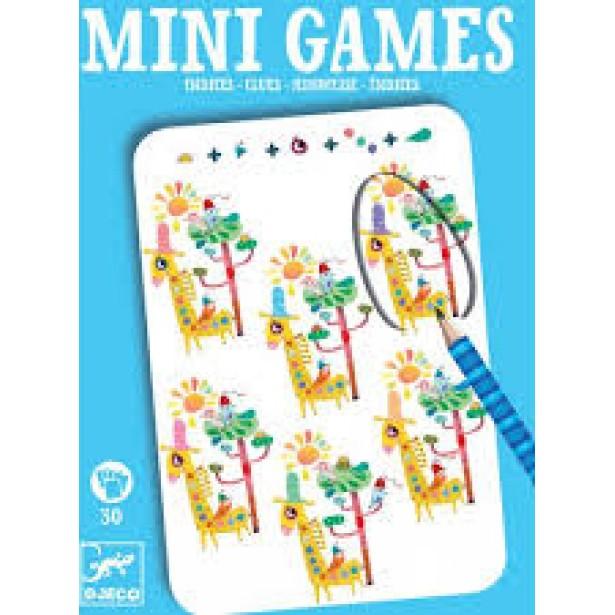 Mini games Djeco - Rose - gaseste personajele
