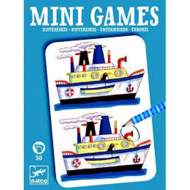 Mini games Djeco - gaseste diferentele - Remi