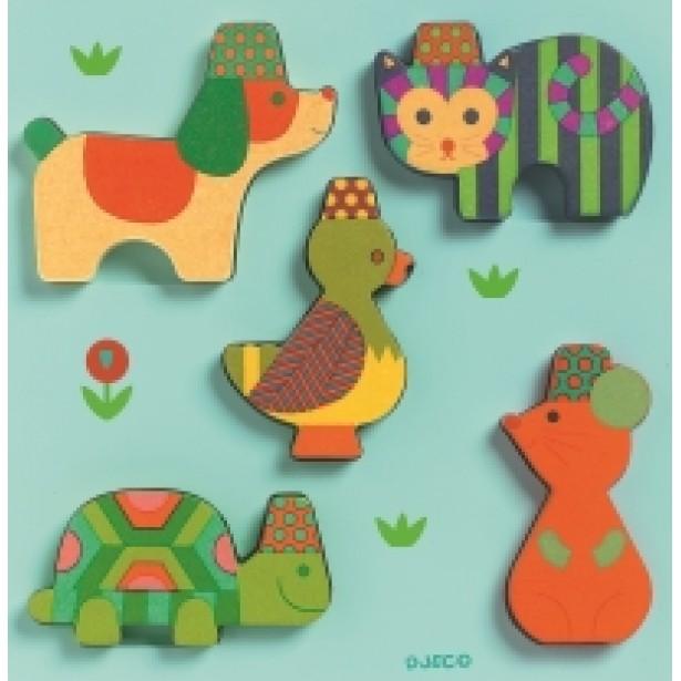 Puzzle Djeco - Yuko