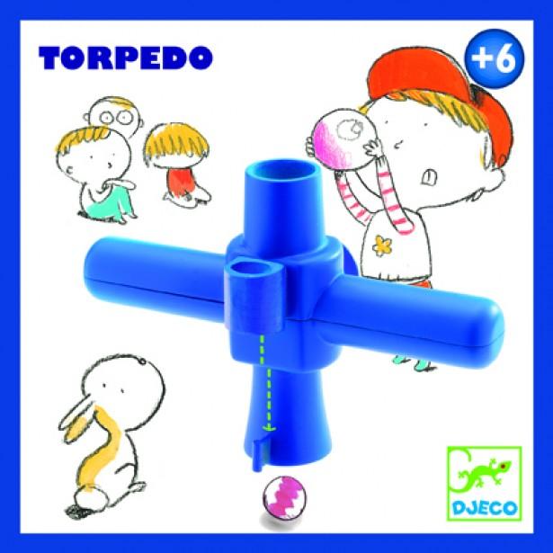Joc cu bile de sticla Djeco - Torpedo