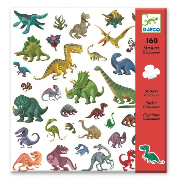 Abtibilduri Djeco - Dinozauri