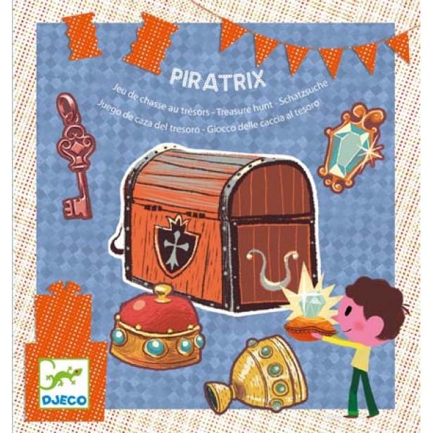 Joc de petrecere Djeco - Piratrix - gaseste comoara