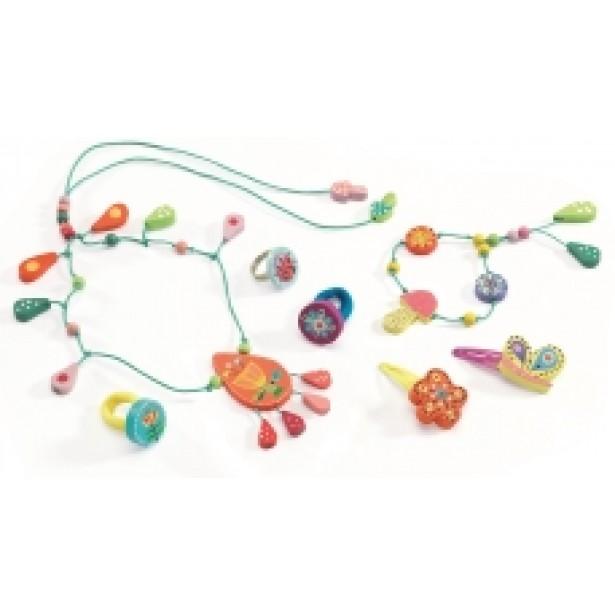 Set bijuterii Djeco - perle de roua