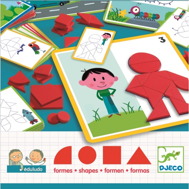 Eduludo Djeco - forme geometrice