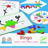 Joc Bingo copii Djeco - invata culori