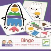Joc Bingo copii Djeco - invata forme