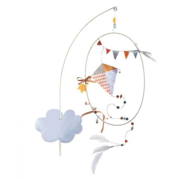 Decoratie mobila camera copil Djeco - cerul senin