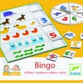 Joc Bingo Djeco - copiii invata sa numere