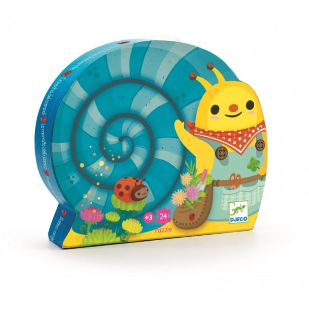 Puzzle Djeco - Gradina melcului