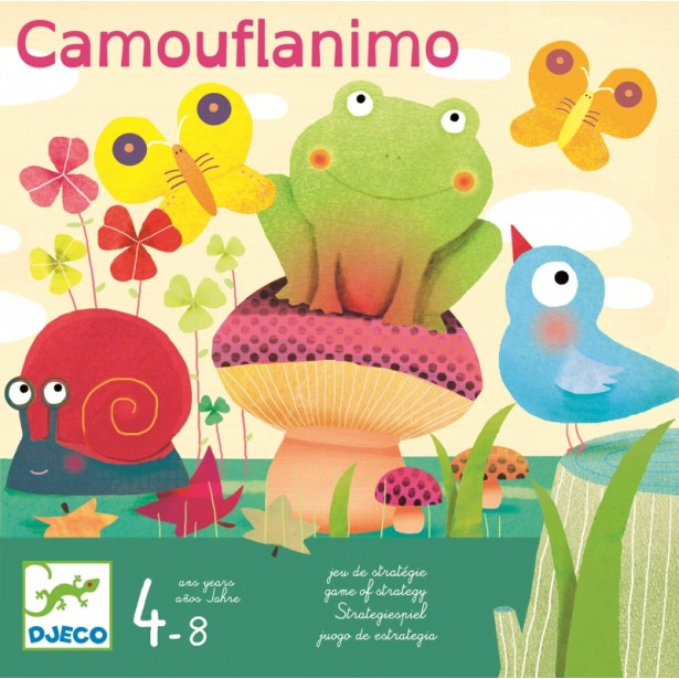 Joc de strategie Djeco - Camouflanimo
