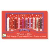Set confectionat bijuterii Djeco - margele sclipici 1
