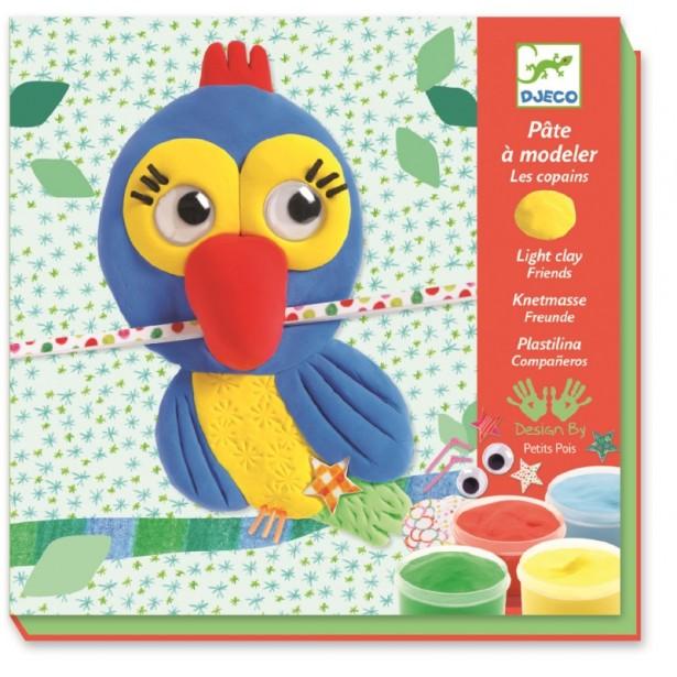 Atelier modeleaza plastilina pentru copii Djeco