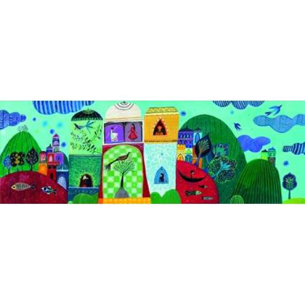 Puzzle Djeco - Visul Aureliei 500 piese