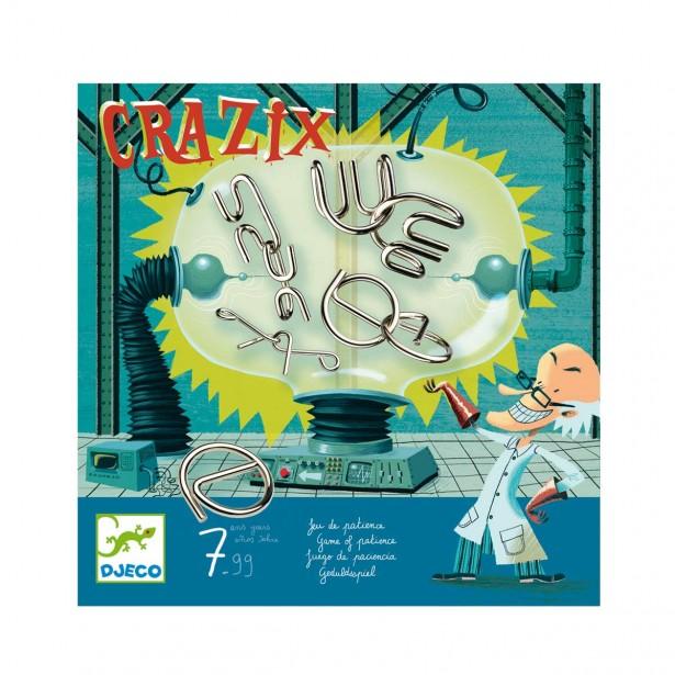 Jocuri de logica metalice Djeco - Crazix