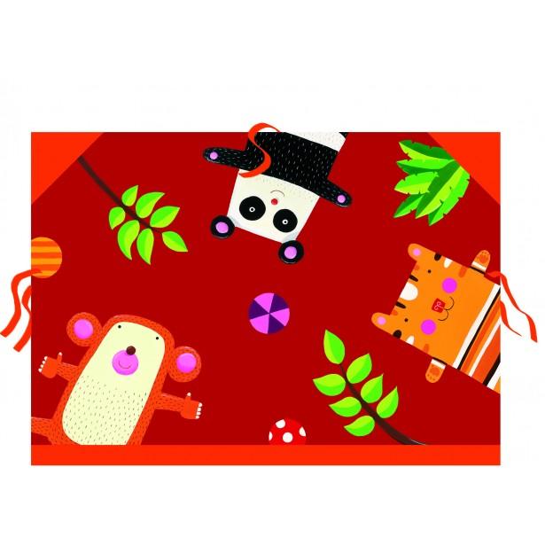 Mapa cartonata pentru desene Djeco