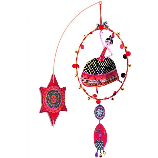 Decoratie de agatat pe perete Djeco - Dans