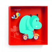 Tablou Djeco - hipopotam