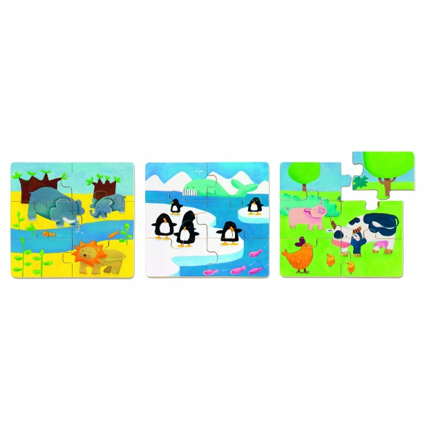 Puzzle Djeco - Duo Animo