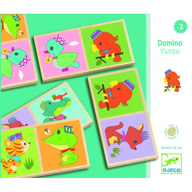 Domino lemn Djeco - Yunzo