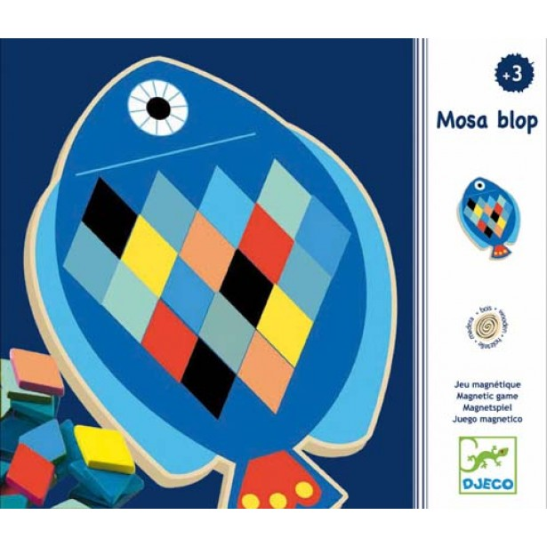 Puzzle mozaic Djeco - Pesti