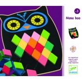 Puzzle mozaic Djeco - Bufnita