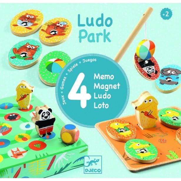 Ludo park Djeco - primele 4 jocuri