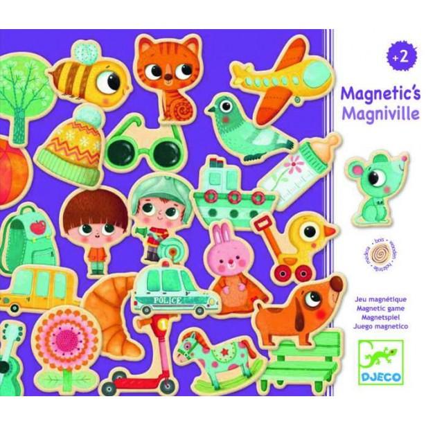 Orasul magnetic Djeco - Magniville