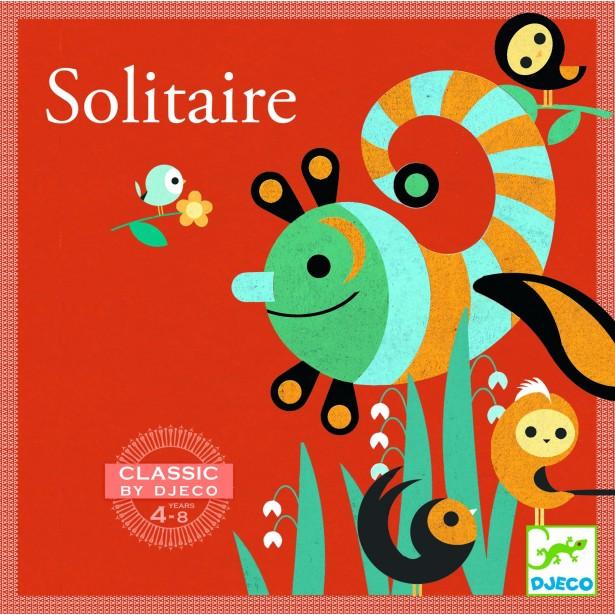 Joc clasic Djeco - Solitaire