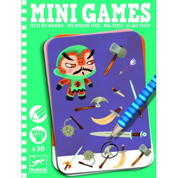 Mini games Djeco - piesa lipsa - Clement
