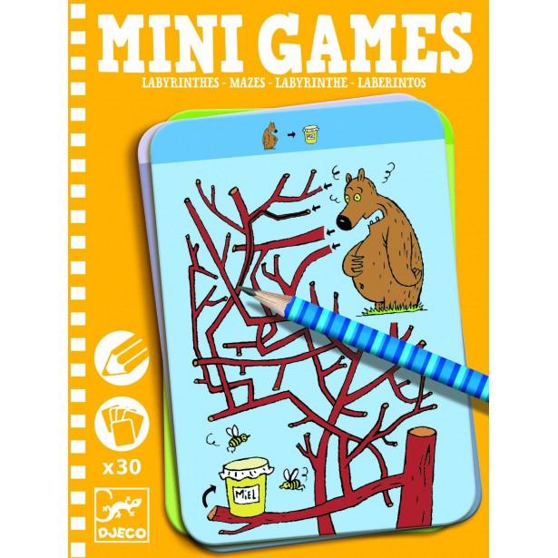 Mini games Djeco - labirintul lui Thesee
