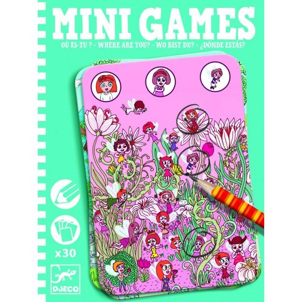 Mini games Djeco - gaseste personajele