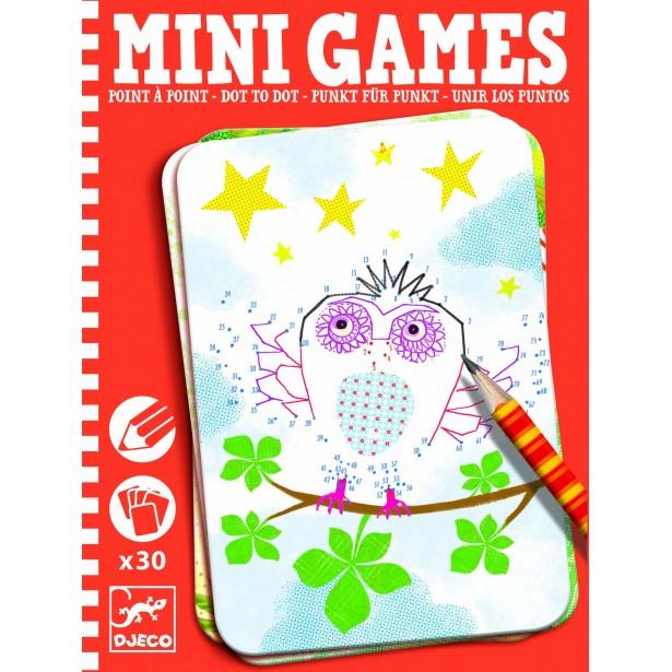 Mini games Djeco - deseneaza punct cu punct