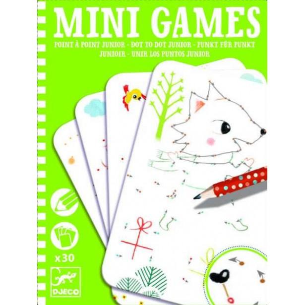 Mini games Djeco - uneste punctele