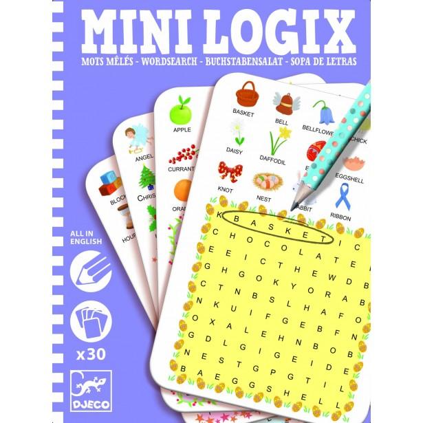 Mini logix Djeco - gaseste cuvintele