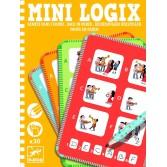 Mini logix Djeco - ordinea corecta