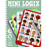 Mini logix Djeco ghiceste personajul 1